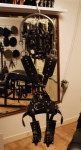 Suspension harness & Mistress high heels London